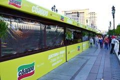 Sbarro restaurang nära Kreml Royaltyfria Foton