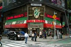 Broadway Street Corner New York City stock images