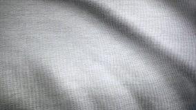 Sbattimenti del panno Onde dell'animazione della tela Fondo del tessuto del raso Animazione del fondo del tessuto che fluttua nel fotografie stock