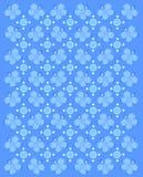 Sbattimento intorno al blu Immagine Stock