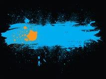 Sbavatura della bandiera illustrazione di stock