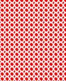 Sbavature rosse Fotografia Stock