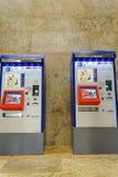 The SBB CFF FFS ticket machine. Stock Photos