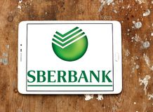Sberbank de logo de la Russie Photo stock