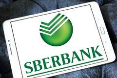 Sberbank do logotipo de Rússia imagens de stock