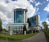 Sberbank head office in Moscow, Russia Stock Photo