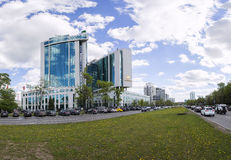Sberbank head office in Moscow, Russia Stock Photography
