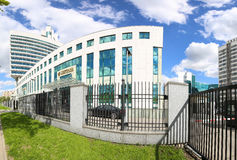 Sberbank head office in Moscow, Russia Royalty Free Stock Photography