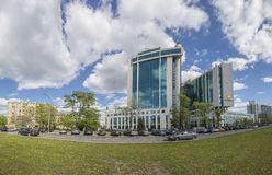 Sberbank head office in Moscow, Russia Stock Images