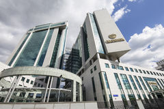 Sberbank head office in Moscow, Russia. Central Head Office Stock Photo