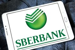 Sberbank of Russia logo Stock Images