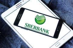 Sberbank van het embleem van Rusland royalty-vrije stock fotografie