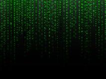Sbiadire il fondo di dati Immagini Stock