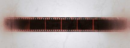 Sbiadire la retro vecchia annata di lerciume della pagina di film Immagini Stock