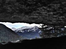 Sbirciando in Himalaya immagini stock libere da diritti