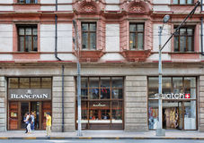 Sbocchi del campione e di Blancpain a Shanghai, Cina fotografia stock