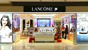 Sbocco dei prodotti di cura di bellezza di Lancome Immagine Stock Libera da Diritti