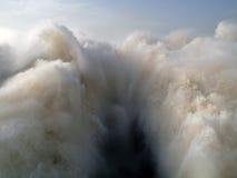 Sbocco dell'acqua della centrale idroelettrica di Merowe Immagine Stock Libera da Diritti