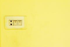 Sbocco di potere della parete, interior design Fotografia Stock Libera da Diritti