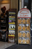 Sbrisolona-Kuchen im Verkauf, Mantua Italien Stockfoto