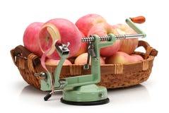 Sbucciatore del Apple Fotografie Stock