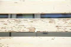 Sbucciatura piantata su legno Fotografia Stock Libera da Diritti