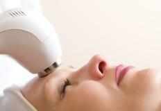 Sbucciatura ultrasonica dell'impianto di lavaggio della pelle Fotografia Stock