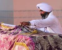 Scène à un mariage sikh Photos stock