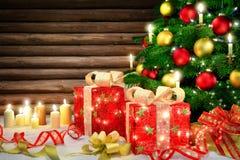 Scène élégante de Noël photographie stock
