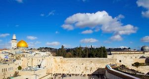 Scène 2 de Jérusalem Images libres de droits