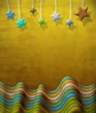 Scène abstraite de cru avec des étoiles illustration libre de droits