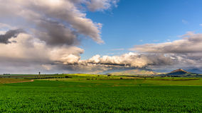 Scène agricole rurale Image stock