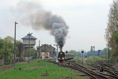 Scène bij het station royalty-vrije stock fotografie