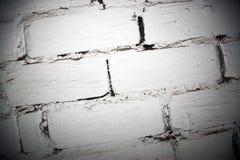 Scène blanche de mur de briques Photos stock