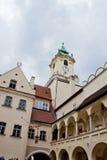 Scène in Bratislava, Slowakije Royalty-vrije Stock Afbeelding