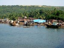 Scène côtière de Ganapatipule Photos libres de droits