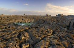 Scène côtière irlandaise Photos stock