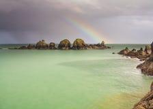 Scène côtière sur Sark Images libres de droits