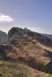 Scène côtière sur Sark Image stock