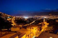 Scène Cusco de nuit au Pérou image libre de droits