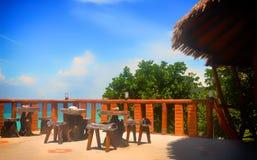 Scène d'île en île de Phuket Photographie stock libre de droits