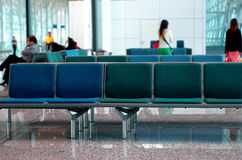 Scène d'aéroport Photo stock