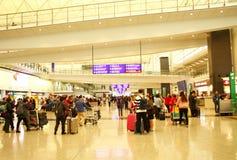 Scène d'aéroport de Hong Kong Images stock