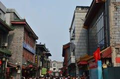 Scène d'achats dans Pékin Qianmen Images stock