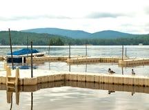 Scène d'Adirondack Photographie stock