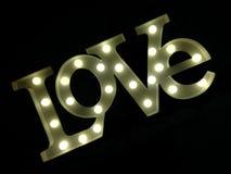 Scène d'amour Image stock