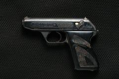 Scène d'arme à feu automatique image stock