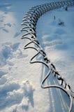 Scène d'hiver à Florence Image libre de droits
