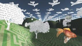 Scène d'imagination Photos libres de droits