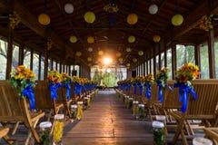 Scène d'intérieur de mariage Photos libres de droits